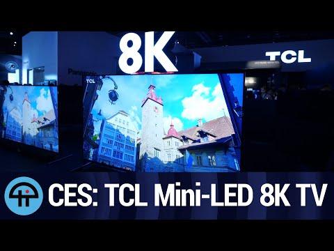 TCL Mini-LED 8K TV (8 Series) at CES 2020