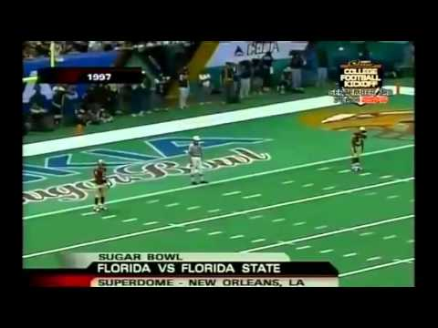 1997 Sugar Bowl - #1 Florida State vs. #3 Florida Highlights