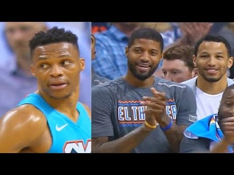 Russell Westbrook Brings Entire Crowd To Their Feet With Thunder After Crazy Comeback vs Grizzlies!