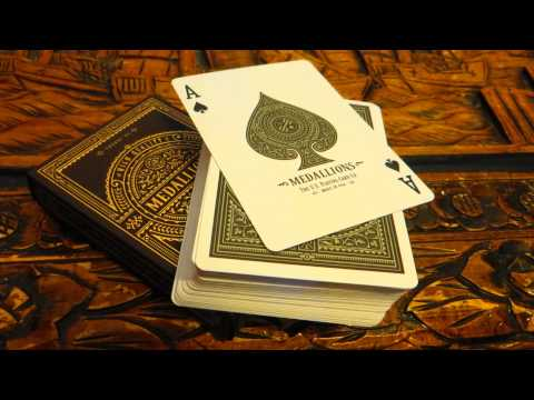 Medallions Playing Cards - Theory 11 Deck Review