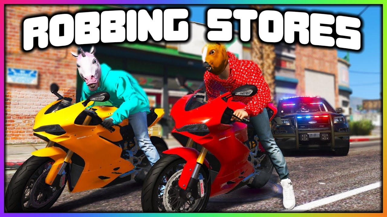GTA 5 Roleplay - ROBBING 3 STORES BACK TO BACK   RedlineRP