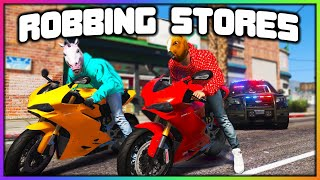 GTA 5 Roleplay - ROBBING 3 STORES BACK TO BACK | RedlineRP