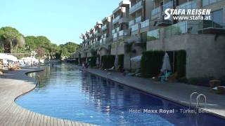 STAFA REISEN Hotelvideo: Maxx Royal Golf & Spa, Belek