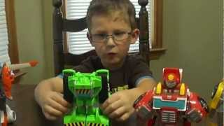 Transformers Rescue Bots Toy Review by Alexander