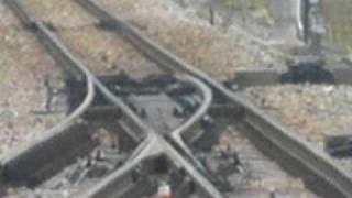 Railroad switch of high speed railway(Niigata-Japan)  可動ノーズクロッシング
