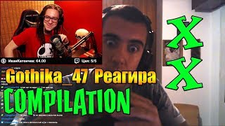 Gothika_47 реагира на Bulgarian Streamers Compilation XX (#20)