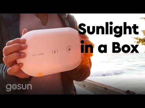 gosun-light-box:-uv-c-sanitizer-and-wireless-charger