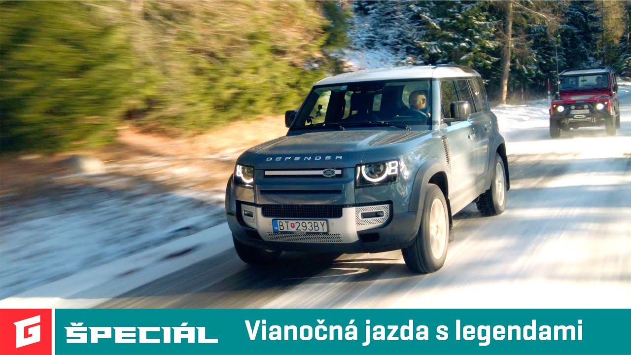 Land Rover Defender D240 SE vs Defender 110 300 TDi - GARAZ.TV