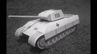 Maquete em papel do tanque Panther/ Panther Tank papercraft