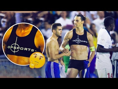 Why do male footballers wear these strange bras in training? Oh My Goal