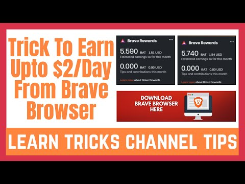 Brave Browser Review & Tutorial | How To Increase Brave Earnings Up To $2 Per Day