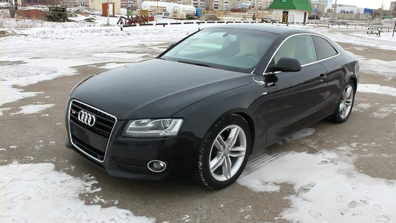 2008 Audi A5 Coupe. Start Up, Engine, and In Depth Tour ...