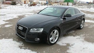 2008 Audi A5 Coupe. Start Up, Engine, And In Depth Tour.