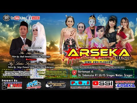 Live Streaming Campursari ARSEKA MUSIC // BG AUDIO (SOUND KEJAWEN) // HVS SRAGEN CREW 01