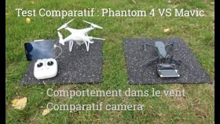 Comparatif Phantom 4 vs mavic