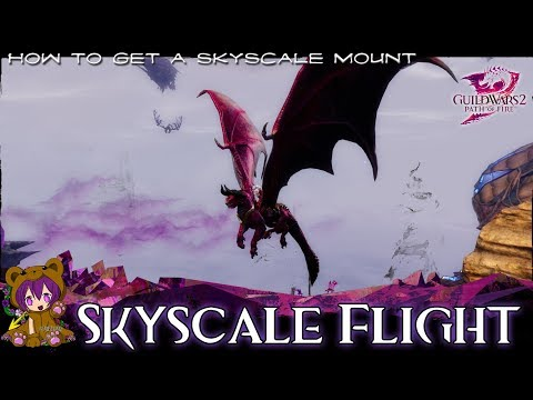 ★-guild-wars-2-★---skyscale-flight-achievement-(skyscale-mount)