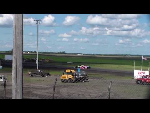 Modified Heat 5 @ Hancock County Speedway 08/14/16