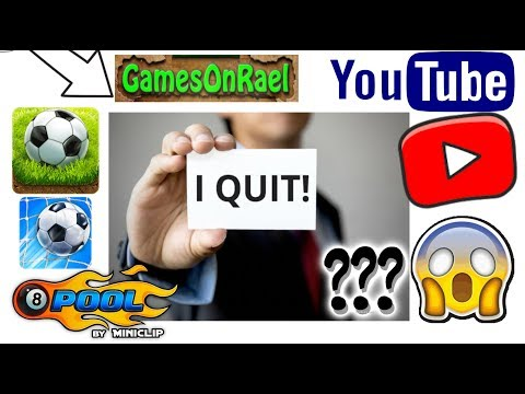 I May Quit YouTube Gaming Channel?! With Proof Why! - I may Not Quit Because Of???