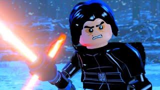 LEGO Star Wars The Force Awakens Kylo Ren Final Boss & All Endings