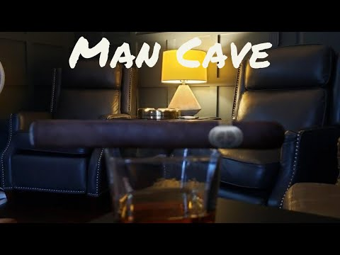 MAN CAVE | CIGAR ROOM | LAYOUT AND DECOR