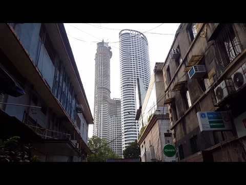 MUMBAI Skyline and Tallest Building of India World one December 2017 Ultra HD-K