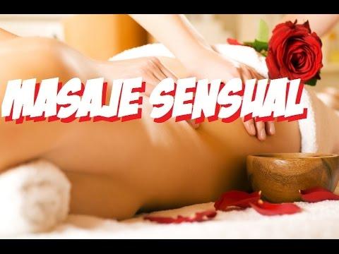 Sensual masaje