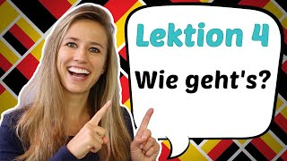 """GERMAN LESSON 4: How to say """"HOW ARE YOU"""" in German and COMMON MISTAKES"""
