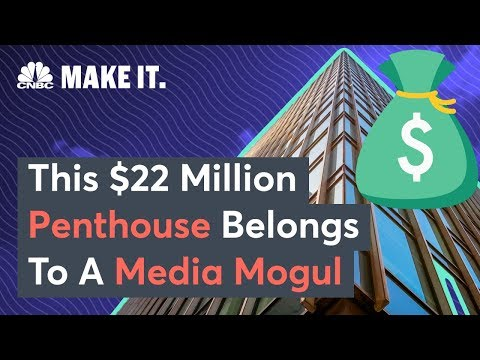 Secret Lives Of The Super Rich – $22 Million NYC Penthouse