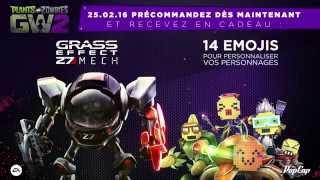 Plants vs. Zombies Garden Warfare 2 | Trailer de gameplay Grass Effect Z7-Mech