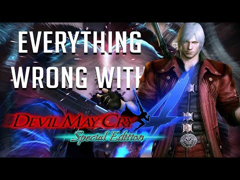 GamingSins: Everything Wrong With Devil May Cry 4 (Special Edition)