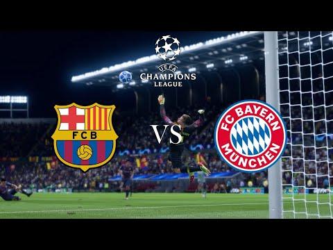 Барселона - Бавария Обзор матча 14.09.2021. Лига чемпионов.