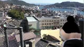 土堂小学校の伝統!プールの時間は千光寺山のてっぺんにある市営プール...