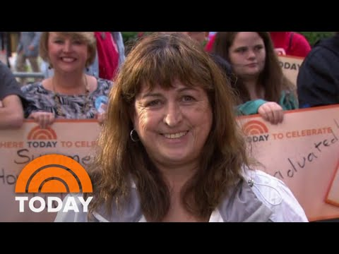 Her 25th Wedding Anniversary Ambush Makeover Brings Woman To Tears | TODAY
