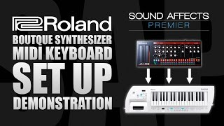 Download lagu Using a MIDI Keyboard with Roland Boutique Synthesizer Modules MP3