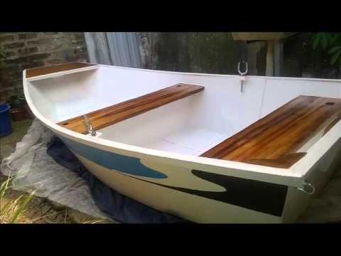 Como hacer un bote de fibra y madera youtube for Como cocinar alubias de bote