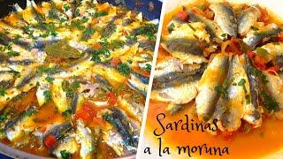 SARDINAS A LA MORUNA | Recetas de Cocina