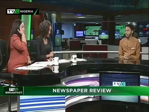 TVC Breakfast 23rd May, 2018 | Newspaper Review