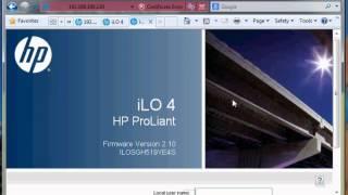 Step by Step Konfigurasi ILO HP Proliant G9