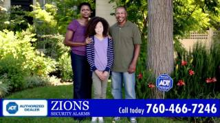 Home and Business Security Systems in Blythe CA - ADT Authorized Dealer - Zions Security Alarms