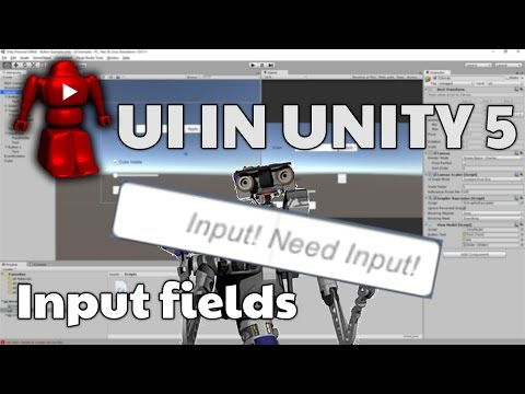 Unity 5 UI Tutorial - Input field and event handlers