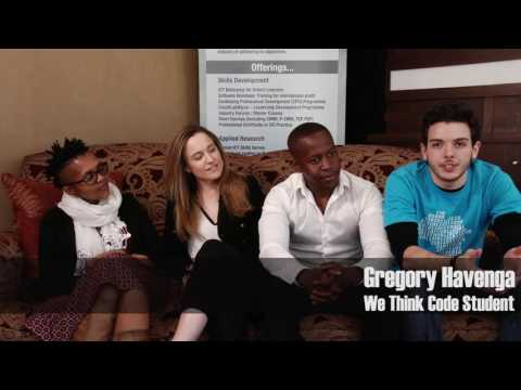 """Agile Africa 2016 Interview: We Think Code students on """"changing mindsets"""""""