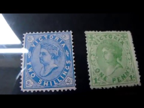 stamp collection Australia #4