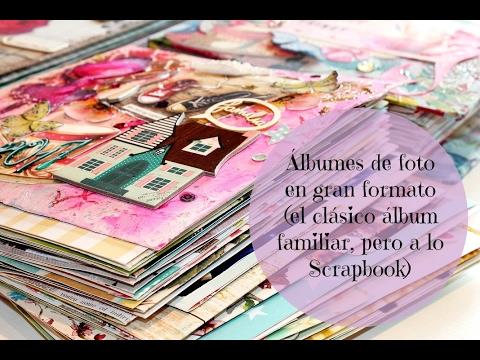 Álbumes de foto en gran formato   álbum scrapbooking para muchas fotos