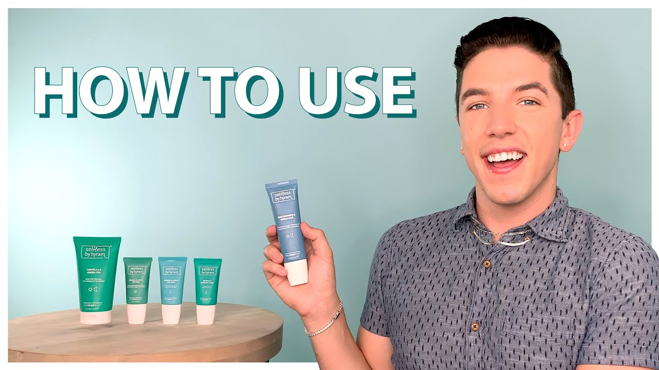 How to Use, Layer, & Apply Selfless by Hyram Products