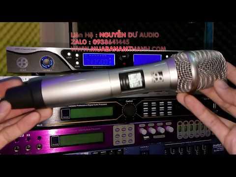 Micro Karaoke không Dây DB Acoustic 550 Làm Show âm Thanh Chuyên Nghiệp