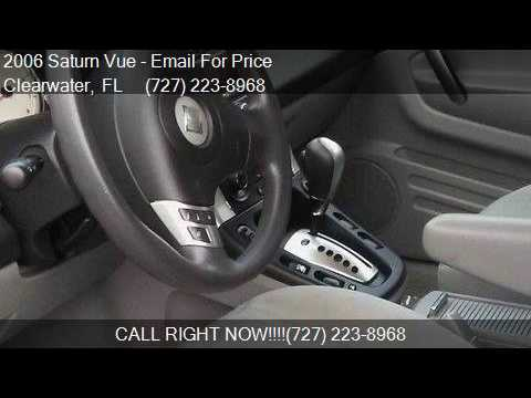2006 Saturn Vue Base 4dr SUV w/Automatic for sale in Clearwa