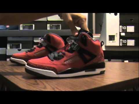 2c57558ffe2e Air Jordan Spizike Toro Bravo review + on feet