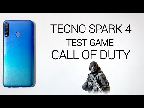 Tecno Spark 4 Test Game Call Of Duty Mobile