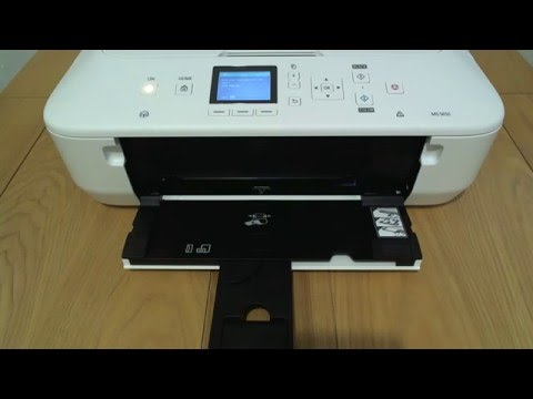 Canon MG5650 - Load Paper Tray
