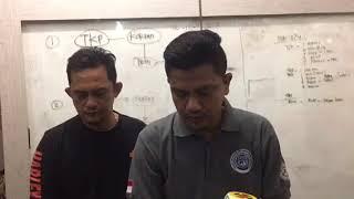 Asyik Kolok-Kolok, Buruh Bangunan Ditangkap Polisi